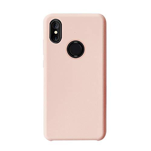 Funda Xiaomi Mi Mix 2S Teléfono Móvil Silicona Bumper Case y Flexible Resistente Ultra Slim Anti-Rasguño Protectora Caso para Xiaomi Mix 2 (Pink, Xiaomi Mi Mix 2S)