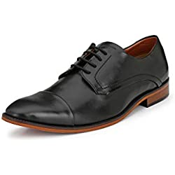 Alberto Torresi Men's Black Formal Shoes