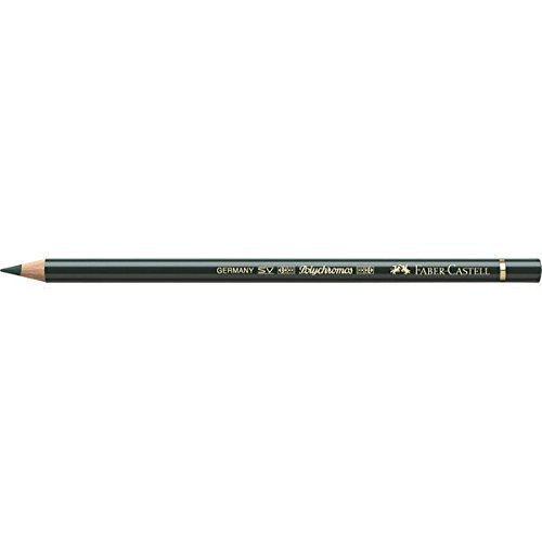 Faber-Castell Polychromos 110267 – colour pencils (Fixed, Wood, Green, Green, Round) by Faber-Castell