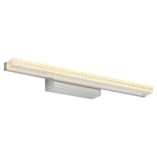 Preisvergleich Produktbild SLIANG LED Spiegelleuchte Retro schwarz Spiegelschrank Bad Badezimmerspiegelleuchte 60cm