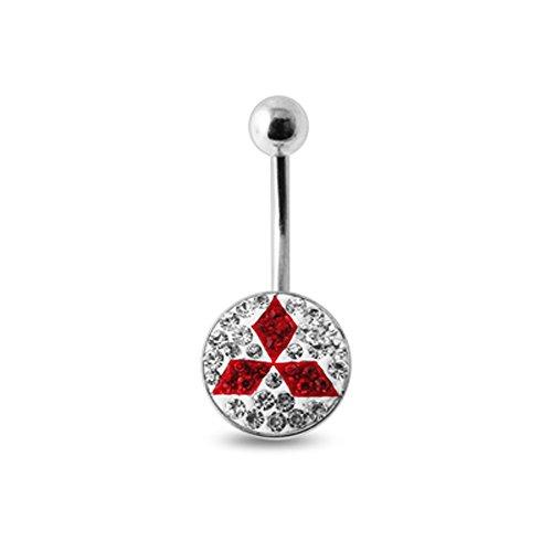 bijou-de-nombril-rouge-en-acier-chirurgical-316l-avec-multi-pierres-de-cristal-motif-mitsubishi