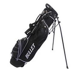 Bullet Golftasche halbsatz für bis zu 6 Schläger in schwarz