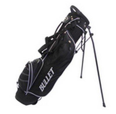 Sac de golf Bullet de luxe léger 6pouces (noir)