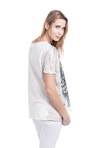 Abbino L5cF71d Shirts Tops Damen - Made in Italy - 4 Farben - Übergang  Frühling Sommer ...