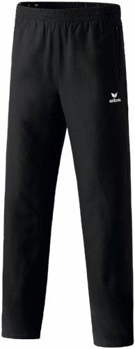 erima Uni Trainingshose Mit Durchgehendem Reißverschluss, schwarz, 110233,  8 EU (38 UK) (Kinder Trainingshose Hose 8)