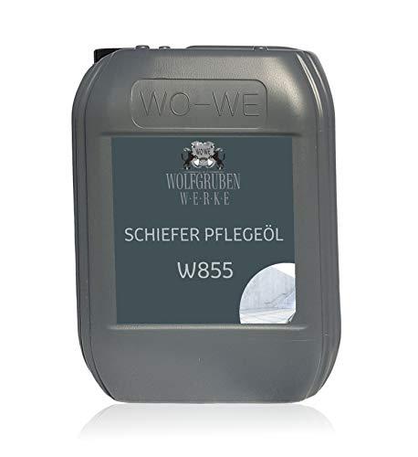 Schieferöl Pflegemittel Pflegeöl Shieferplatten Schiefertafel Öl W855 5L (Reinigen, öl)