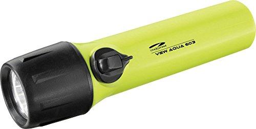 LiteXpress Taschenlampe/Taucherlampe View Aqua 603 LXL15000W4, Plastik, Gelb/Schwarz, 16.6 cm