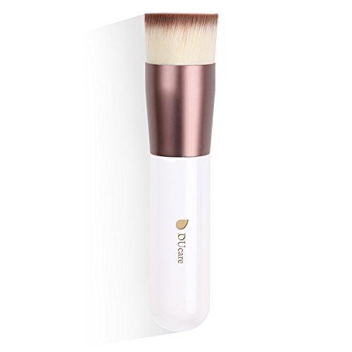 Make up Pinsel Kabuki Foundation Brush Flat Top Professionelle Vegan Kosmetik Gesicht Puderpinsel Buffer Schminkpinsel - Flache Buffer Pinsel
