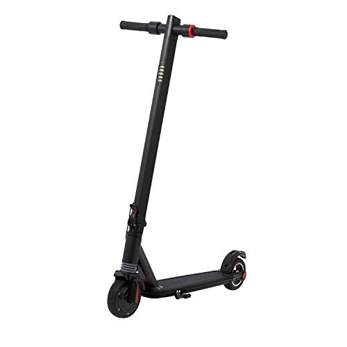 Ecogyro GScooter S6 Black Scooter-Patinete eléctrico, Juventud Unisex, Talla Única