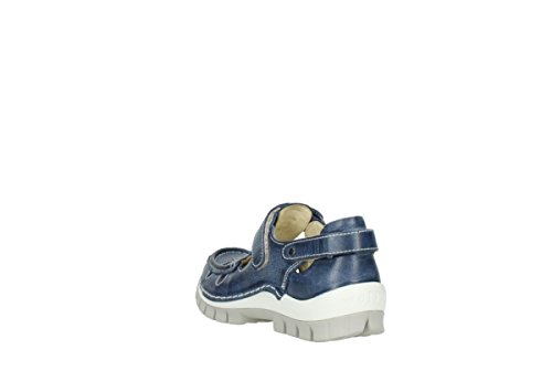Wolky  Move, Mocassins pour femme 387 blue summer leather
