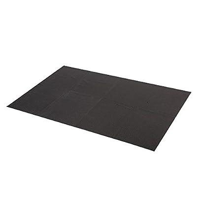 Antirutschmatte für KFZ Kofferraum 90x60cm geschlossene Schmutzfangmatte , schwarz