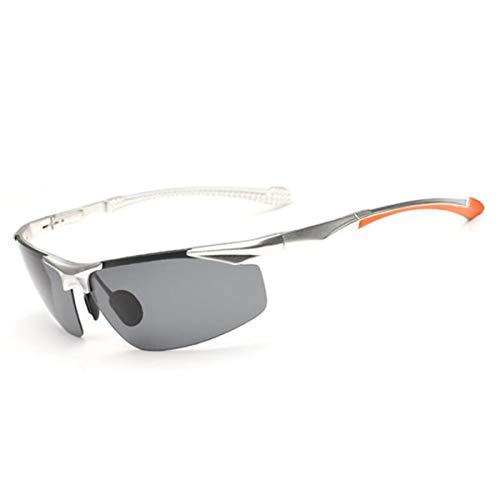 KOMNY Aluminium Magnesium Männer Polarisierte Linse Sonnenbrille Fahrer Spiegel sonnenglas Reise Party Goggle für Männer Brillen Für Männer, D