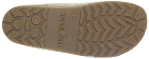 Haflinger Kanon 731023, Chaussons femme Beige-TR-F5-28
