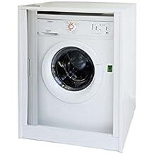 Trockner Auf Waschmaschine Schrank