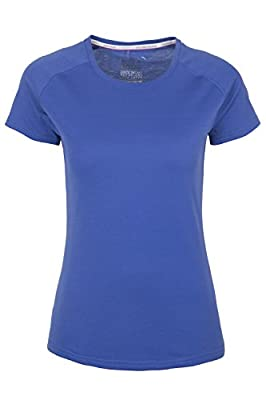 Mountain Warehouse IsoCool Womens Technical T-Shirt – Round Neck Tee Shirt, Short Sleeves Shirt, UV Protected Ladies Top, Breathable Active Tee - for Walking & Gyming