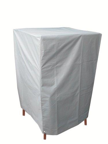 Schutzhülle für einen RECHTECKIGEN Grill - mit verchromten Lochverstärkungen und einer Zugkordel zur Befestigung