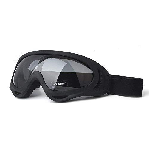 Motorrad Schutzbrillen Motorrad Brille Dirt Bike UV-Schutz Brille Polarisierte Sonnenbrille Sicherheitsbrille Outdoor Brille Staubdicht Biegsam mit gepolstertem Weichschaum für Fahrrad Moto ATV Race -