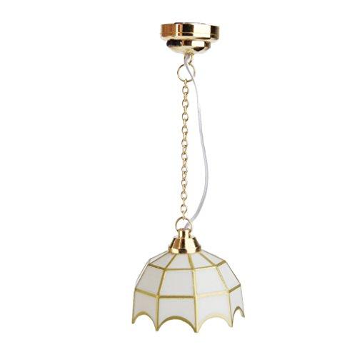 1:12 Puppenhaus Miniatur Decke Lampe LED Licht - Keine Decke Lampe