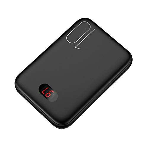 Pultus Wireless Power Bank, USAMS Digital Display Power Bank 10000Mah Dual USB Mini Mobile Power