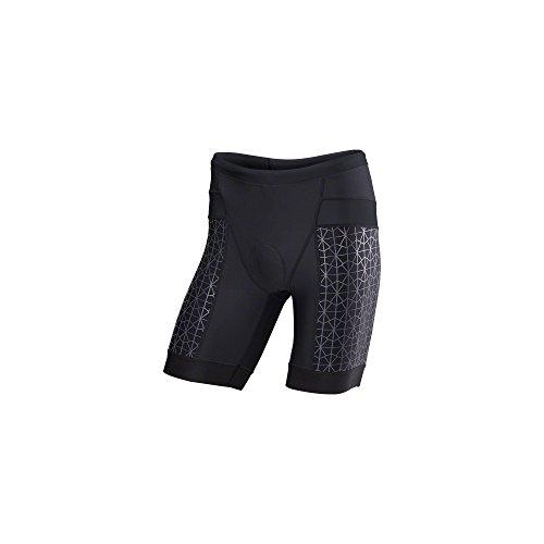 Tyr-tri-shorts (TYR Competitor 9in Tri Short - Men's Black/Black, XL)