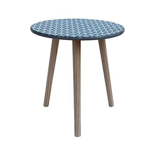 Rebecca Mobili Table de Salon Table Basse Gris Bois Mdf Bois de Paulownia Décor Salon Chambre (Cod. RE6121)