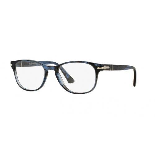 Persol Brillen 3085 1031, Striped Blue Kunststoffgestell, 53mm