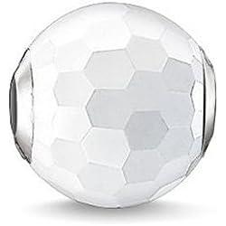Thomas Sabo Damen-Bead 925 Silber Achat weiß - K0126-130-14