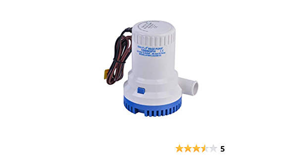 SAILFLO Sailfo.US 2000 GPH 12v Submersible Boat Marine Plumbing Electric Bilge Pump 1 1//8 Outlet.-with Float Switch