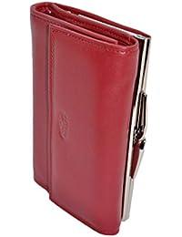 944110d3e777 KATANA Porte Feuille Porte Monnaie avec Fermoir en Cuir réf 553011 (Rouge