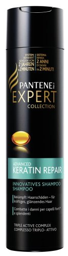 Pantene Pro V Expert Collection di riparazione cheratina Shampoo, 1er Pack (1 X 250 ML)