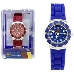 Seva Import Barcelona Unisex Watch Blue/Claret, One Size