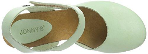 Jonny'sZaltana - Sandali con cinturino alla caviglia da donna Verde (Grün Mint)