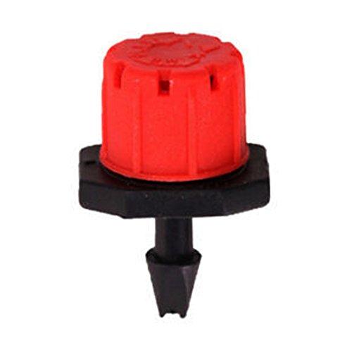 akaddy 100 x Adjustable Garden Irrigation Misting Micro Flow Water Dropper Head -