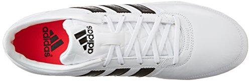 Adidas Performance Gloro 16.1 Fg Calcio Galloccia, nero / bianco / argento metallizzato, 4 M Us White/Black/Metallic Silver