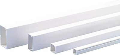 Licatec PVC Installationskanal CK 40x25 reinweiß RAL 9010, 2 Meter von Licatec - Lampenhans.de