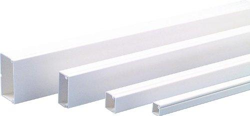 Licatec PVC Installationskanal CK 30x15 reinweiß RAL 9010, 2 Meter
