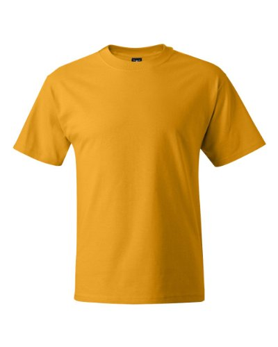 Hanes Mens Beefy-T Born to Be Worn 100% Cotton T-Shirt Lime