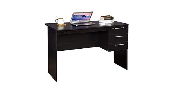 WOLTU TS59sz Bureau d\'ordinateur Table de Bureau en Bois,Table de ...