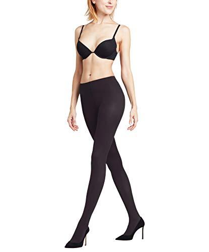 FALKE Damen Matte semi-Opaque Strumpfhose Pure 50 den Komfortbund Softnaht, Blickdicht, Black, XL