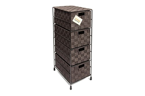 EHC 4-Drawer Storage Cabinet for...