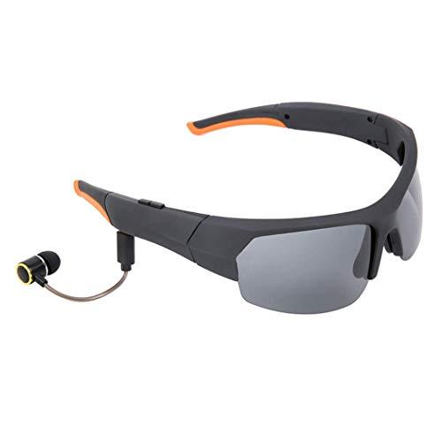 Yuany Neue Bluetooth-Brille Sport-Sonnenbrille Brille Kopfhörer Stereo-Bluetooth-Hören-Songs + Call-Brille