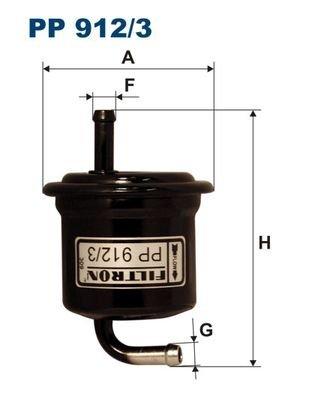 Preisvergleich Produktbild Filtron Kraftstofffilter, pp912/3
