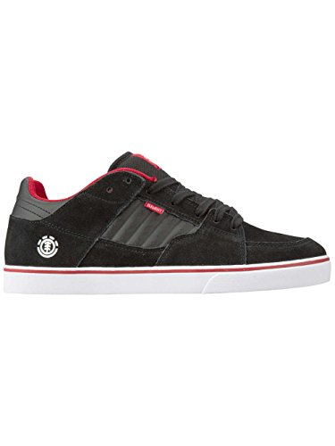 Herren Skateschuh Element Glt2 Skateschuhe black white red
