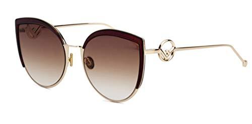 DAIYSNAFDN Sexy Cat Eye Sonnenbrillen High Fashion Frauen Große Sonnenbrille Steigung Reflektierende Gläser Uv400 C5 Tea Lens