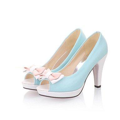 LvYuan Da donna-Sandali-Ufficio e lavoro Formale Casual-Comoda Club Shoes-A stiletto-Finta pelle-Blu Giallo Rosa Bianco Pink
