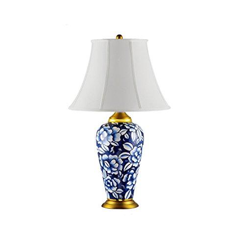 CXQ Lampada da Comodino Camera da Letto Americana Soggiorno Lampada da Cucina in Ceramica Shanghai Old Republic Palace Lampade Classiche da Hotel (Size : S)