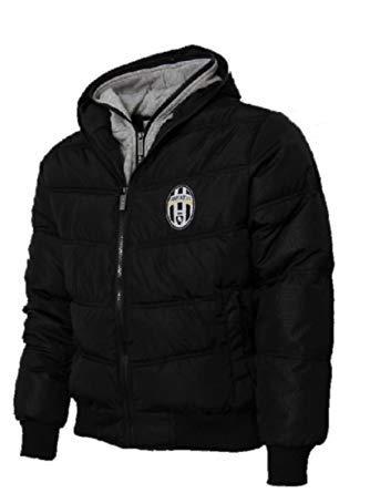 Giacca con cappuccio uomo Juventus bomber imbottito Juve prodotto ufficiale *22314-M