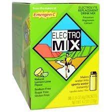 EMERGEN-C ELECTRO MIX Lemon-Lime, 30 ct, 4.2 oz by Emer'gen-C