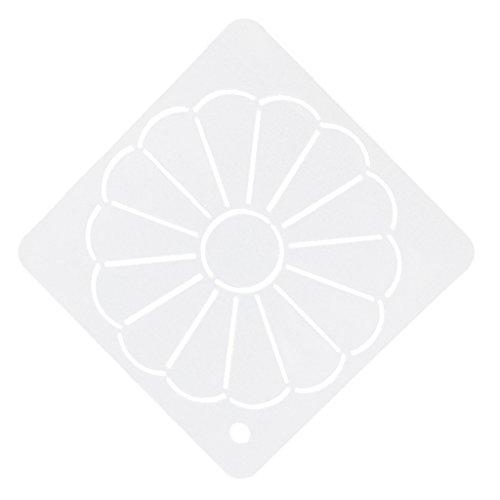 Schablonen Nähen Scrapbooking transparente Vorlage Patchwork Stickerei Acryl Quilt - Farbe2, one size (Quilten Stoff Malerei)
