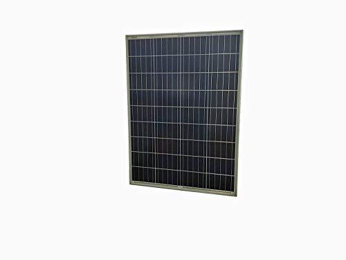 Hi-Tech Solar 80 W Monocristalina Solar PV Módulo Premium Negro Panel C/W Negro Retroceso Hoja Nota: Por lo general sólo tenemos en cuenta ofertas para 2 o más artículos. Módulo solar (80 W) para recargar baterías de 12 V CC. Recomendamos el uso de c...